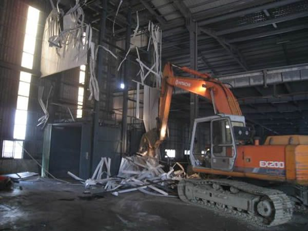 廠房拆除工程1