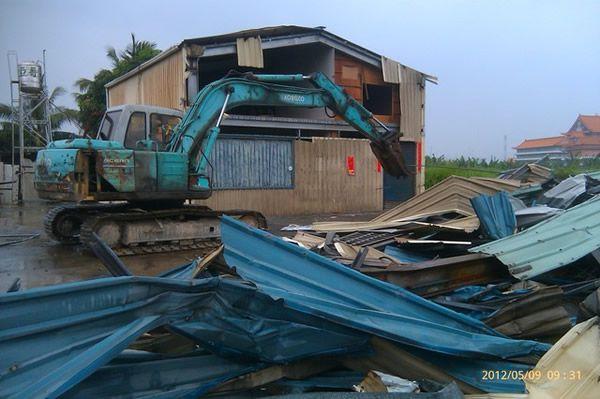 民房拆除工程1
