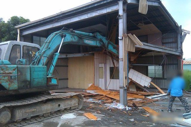 新北市民房拆除工程