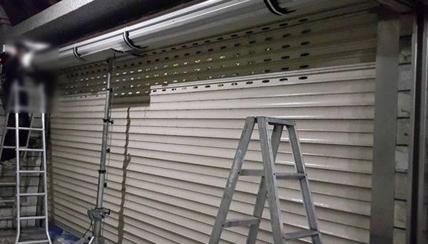 鐵捲門安裝